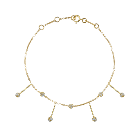 DIAMOND CHANDELIER ANKLET