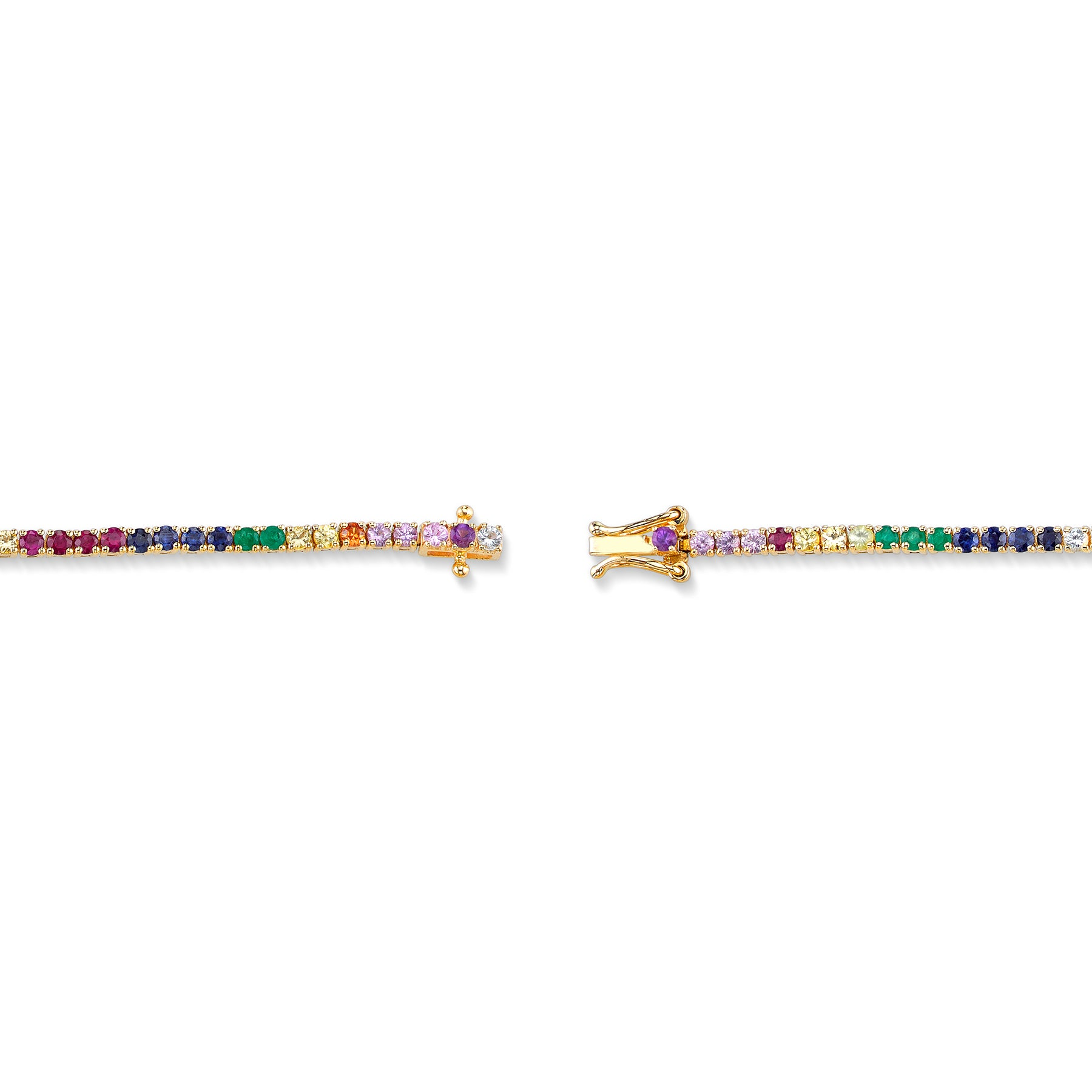 PERFECT RAINBOW TENNIS BRACELET