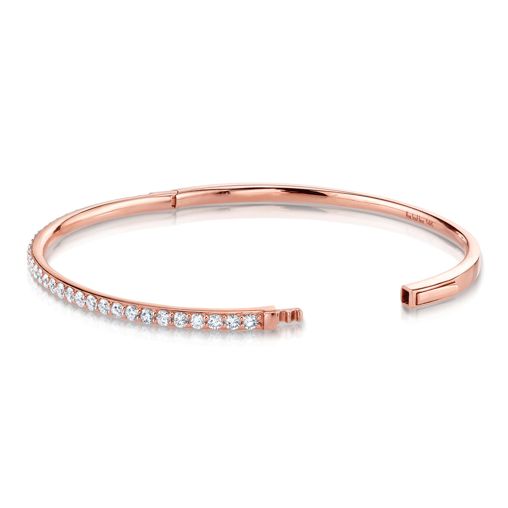 DIAMOND HINGE BANGLE