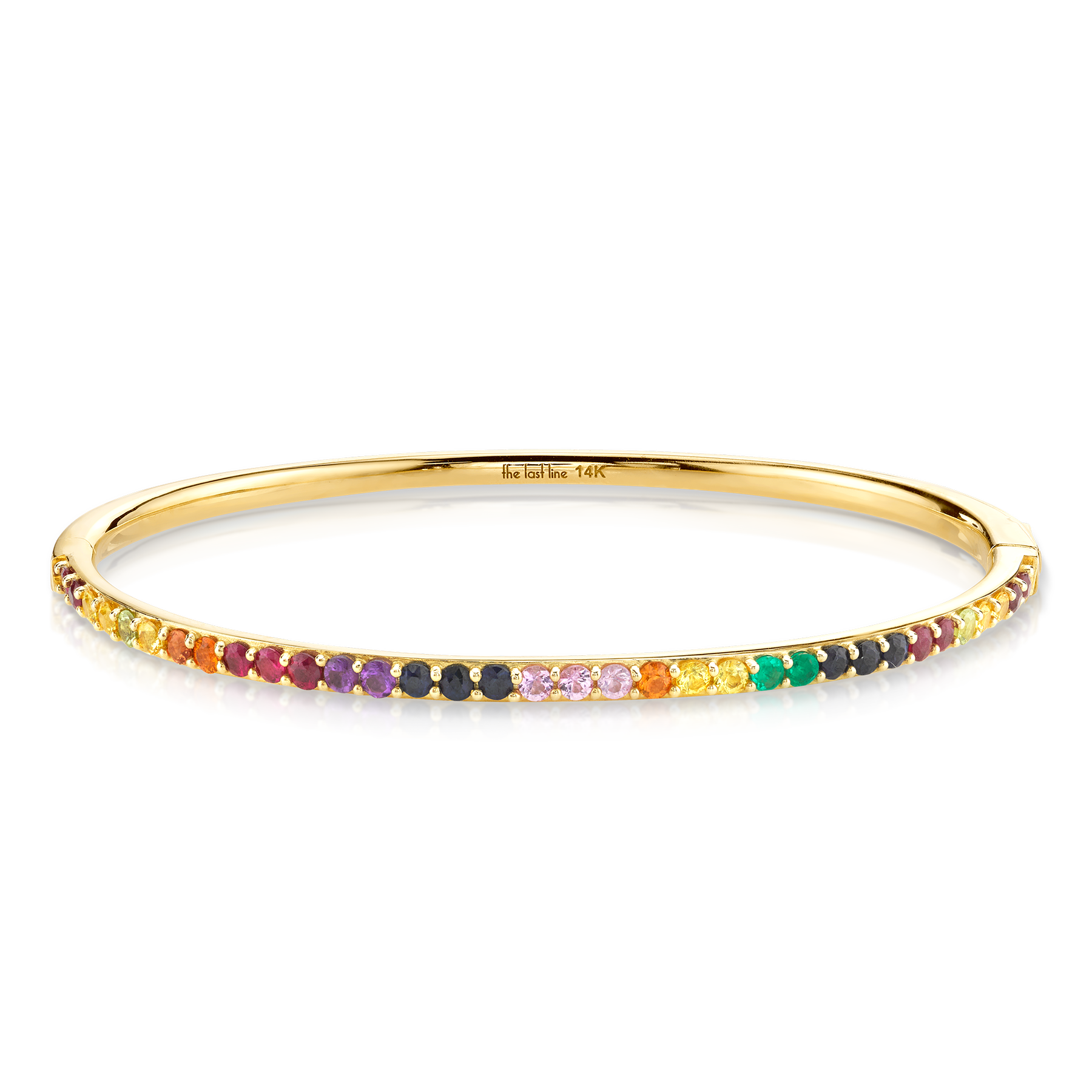 RAINBOW HINGE BANGLE