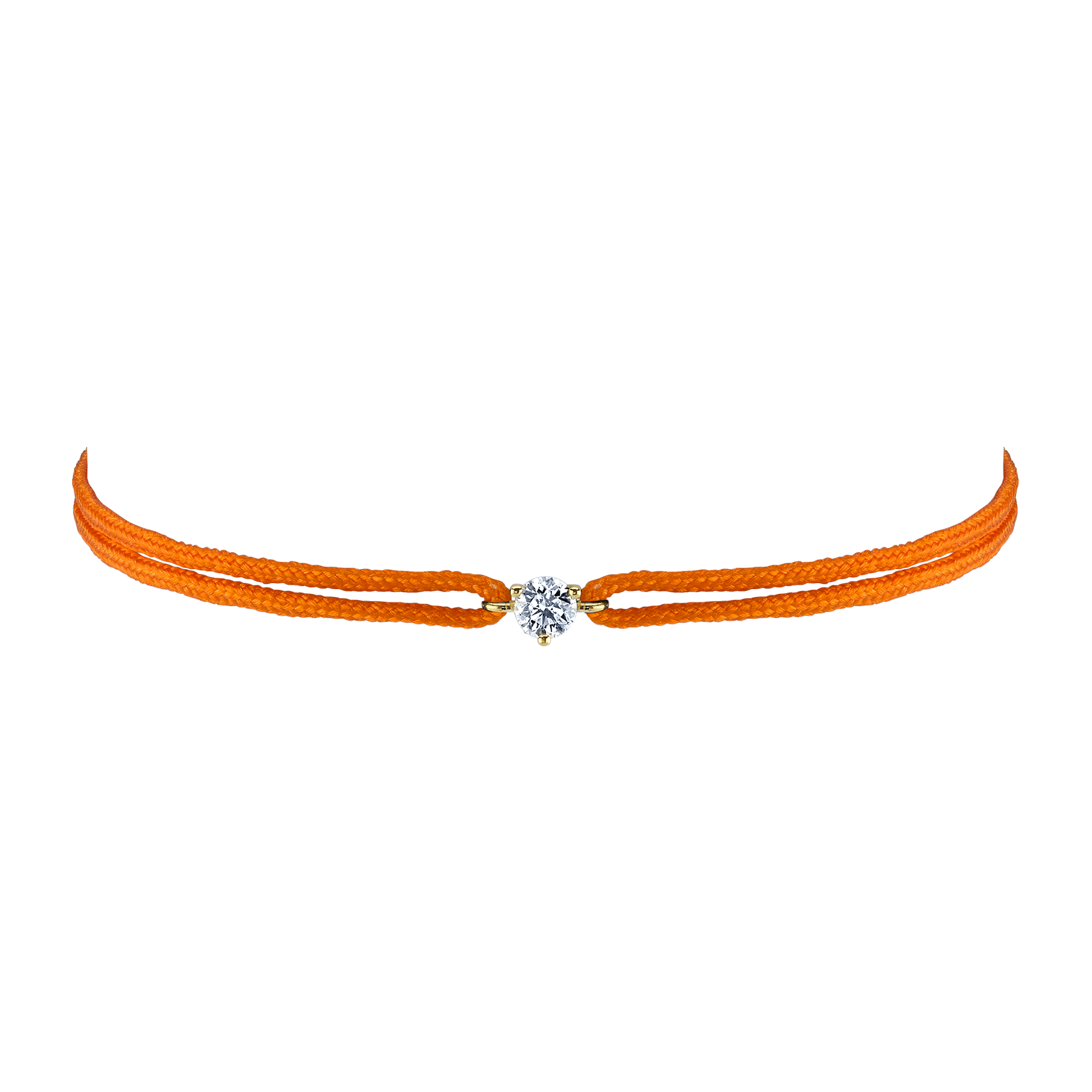 LARGE SOLITAIRE DIAMOND FRIENDSHIP BRACELET