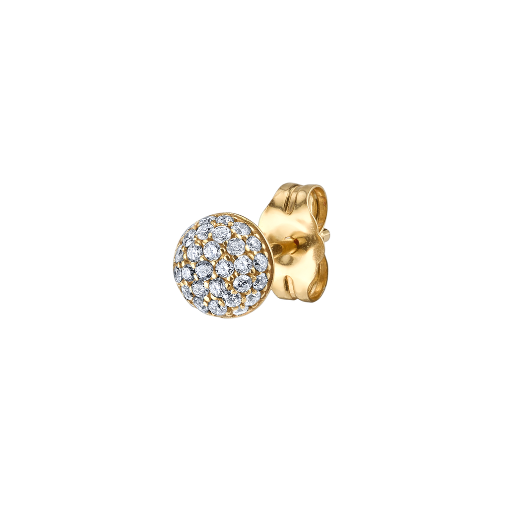 DIAMOND #2 PAVÉ STUD EARRING