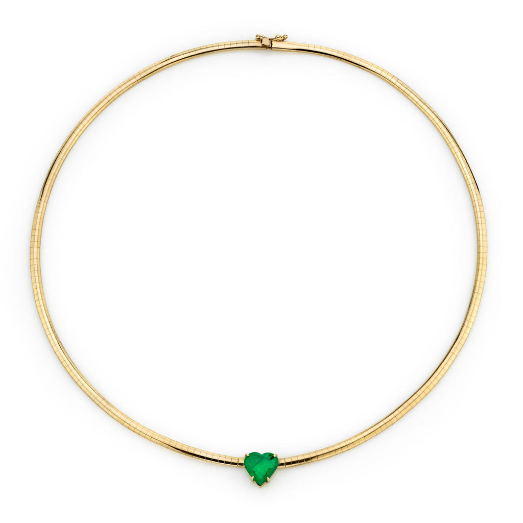 EMERALD HEART DARLING NECKLACE