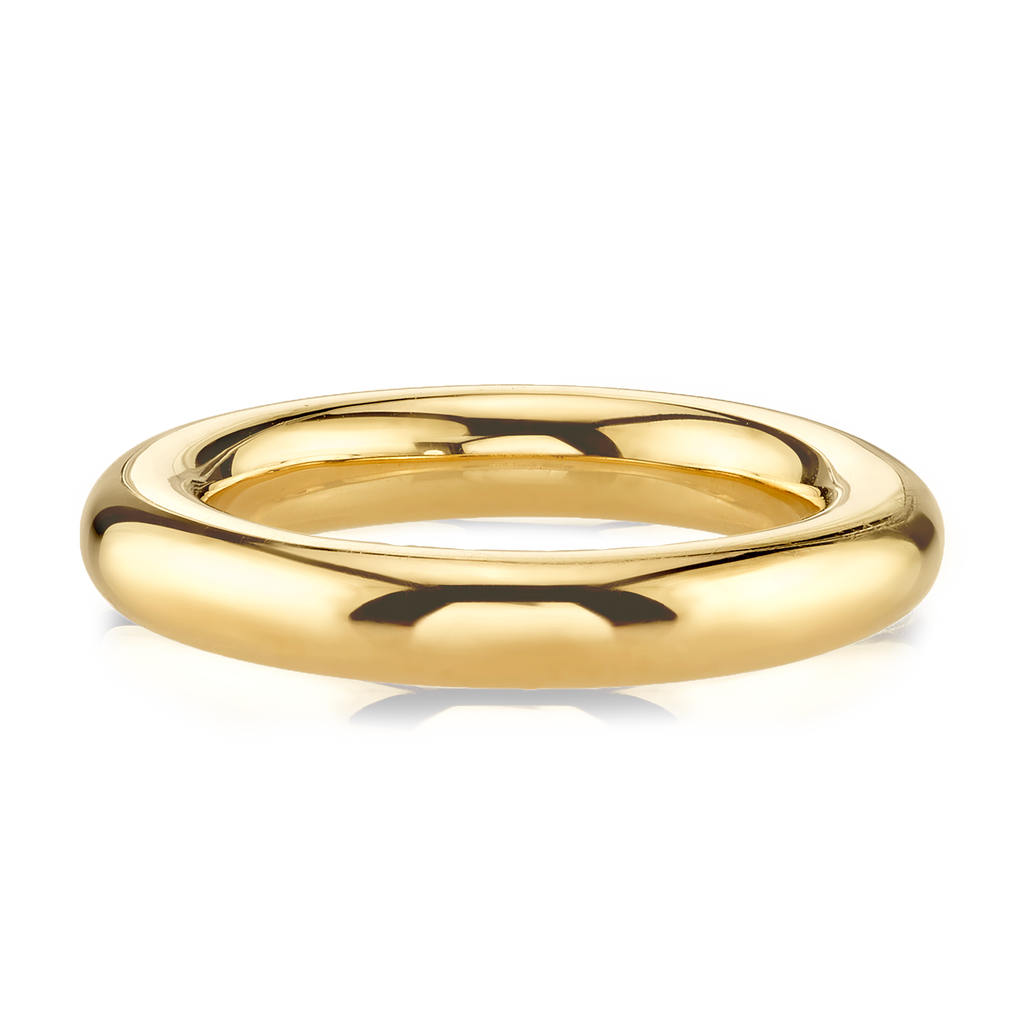 GOLD WIDE BAND