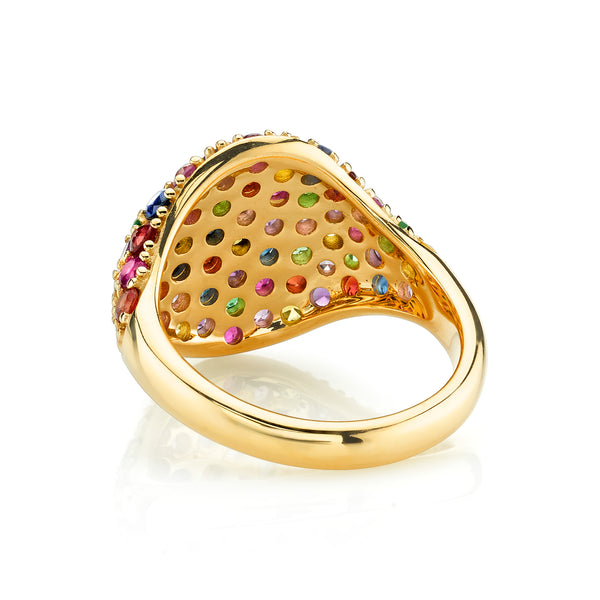 RAINBOW SIGNET RING