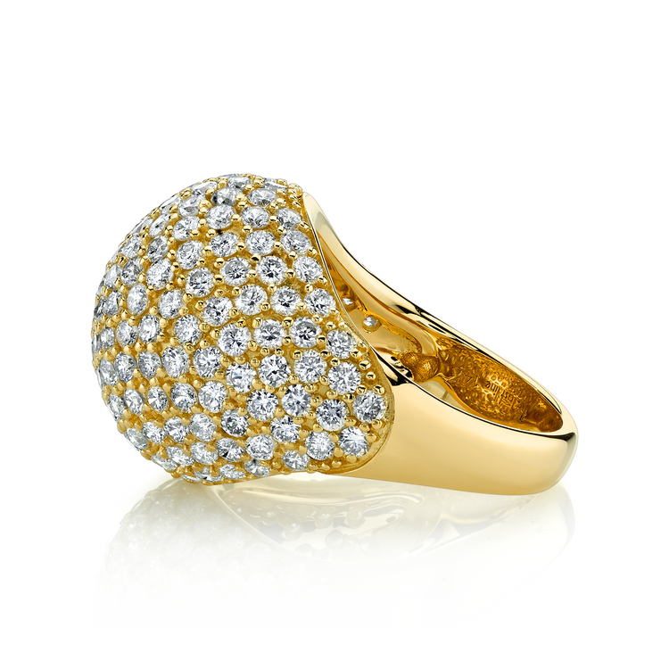 DIAMOND BOMBE RING
