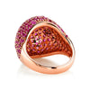 RUBY BOMBE RING