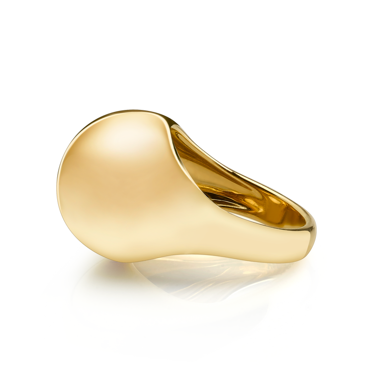 GOLD BOMBE RING