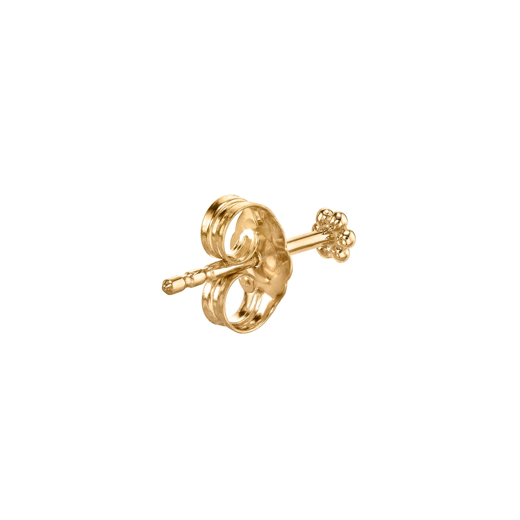 MINI GOLD FLOWER STUD