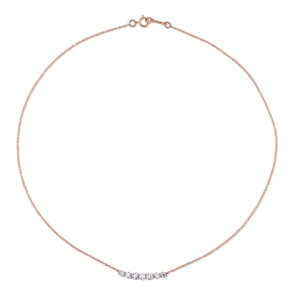 DIAMOND CLASSIC CURVE NECKLACE