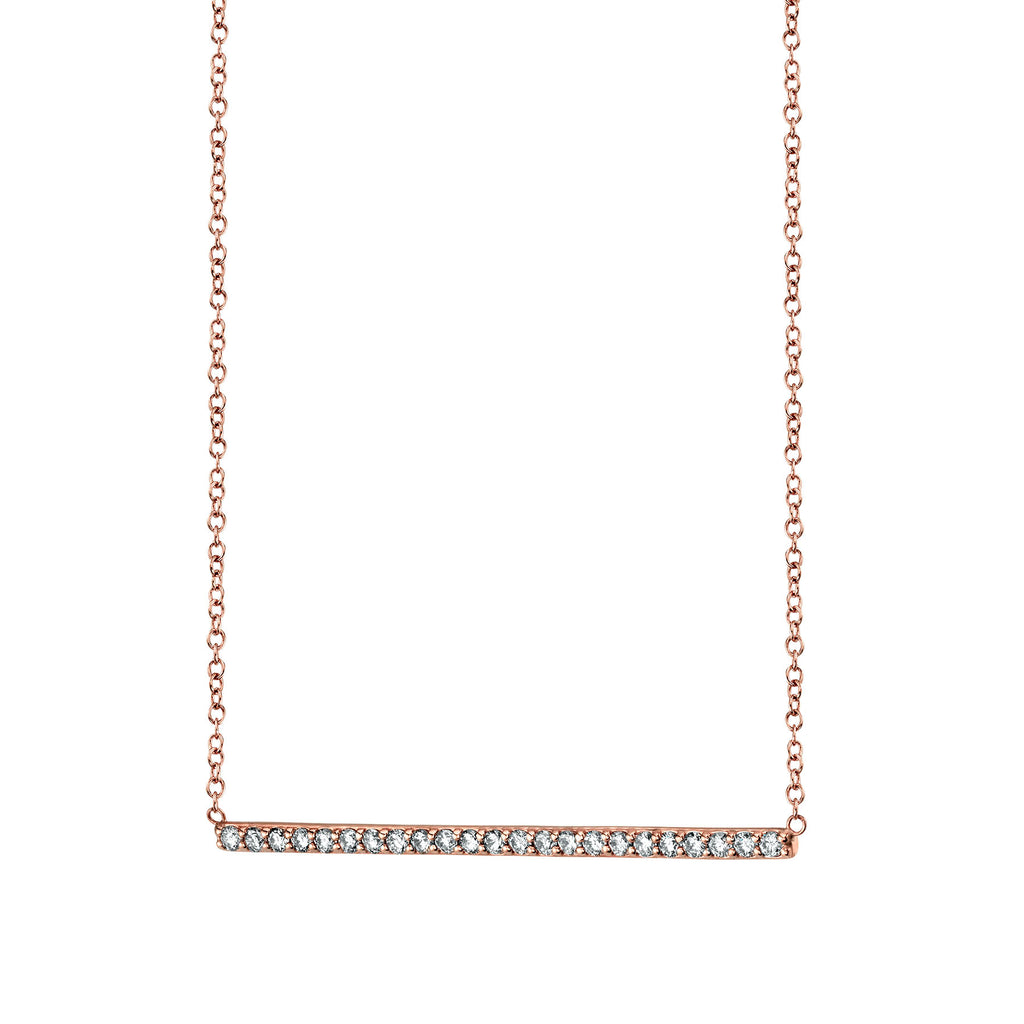 DIAMOND LINE NECKLACE