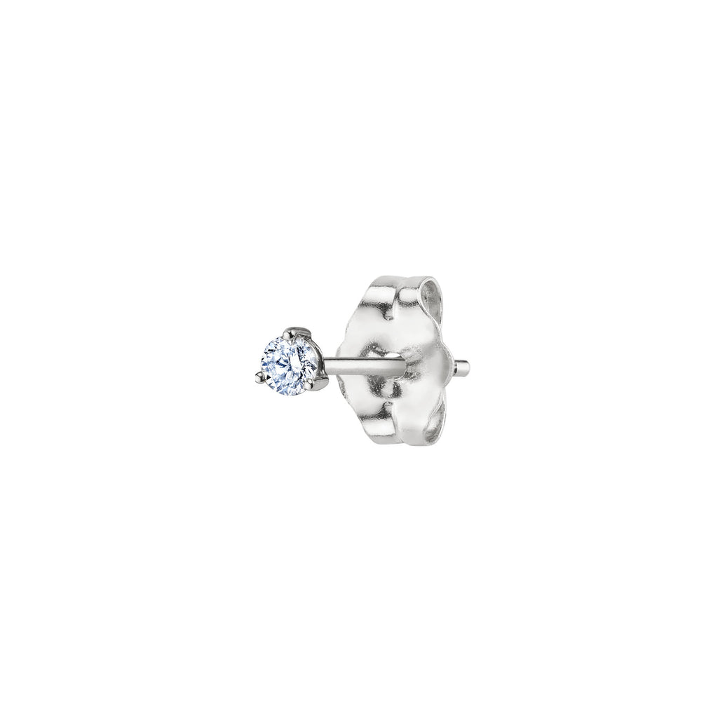 DIAMOND #4 STUD EARRING