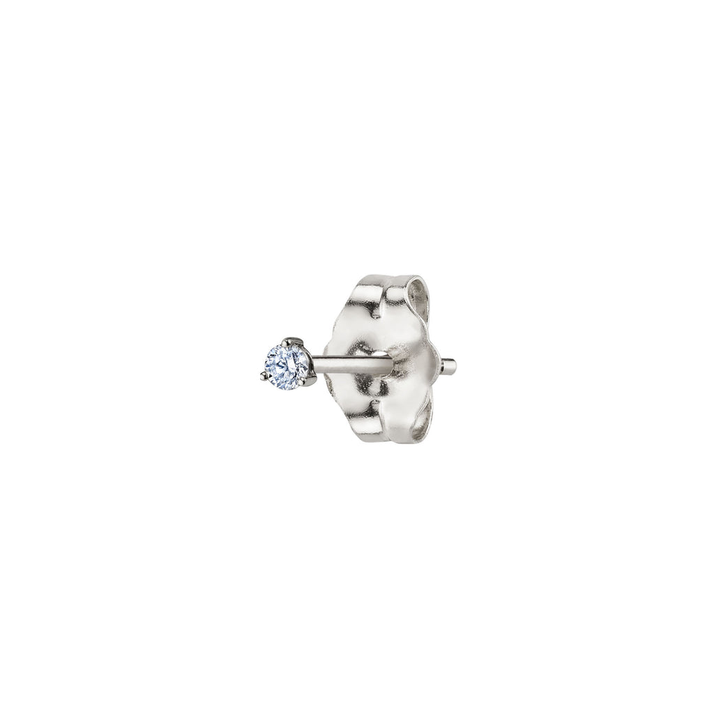 DIAMOND #6 STUD EARRING