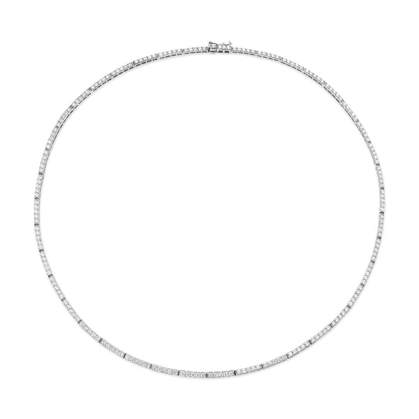 PERFECT DIAMOND ETERNITY NECKLACE 1.5mm