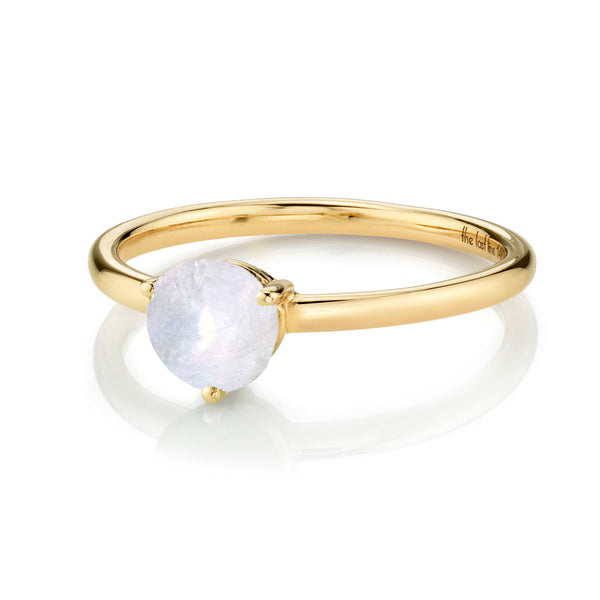 LARGE SOLITAIRE MOONSTONE RING