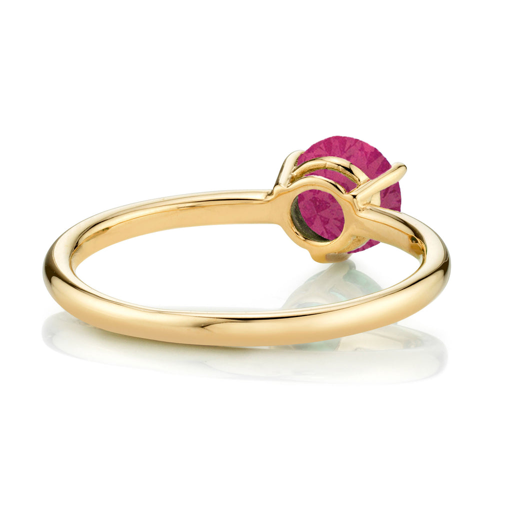 RUBY LARGE SOLITAIRE RING