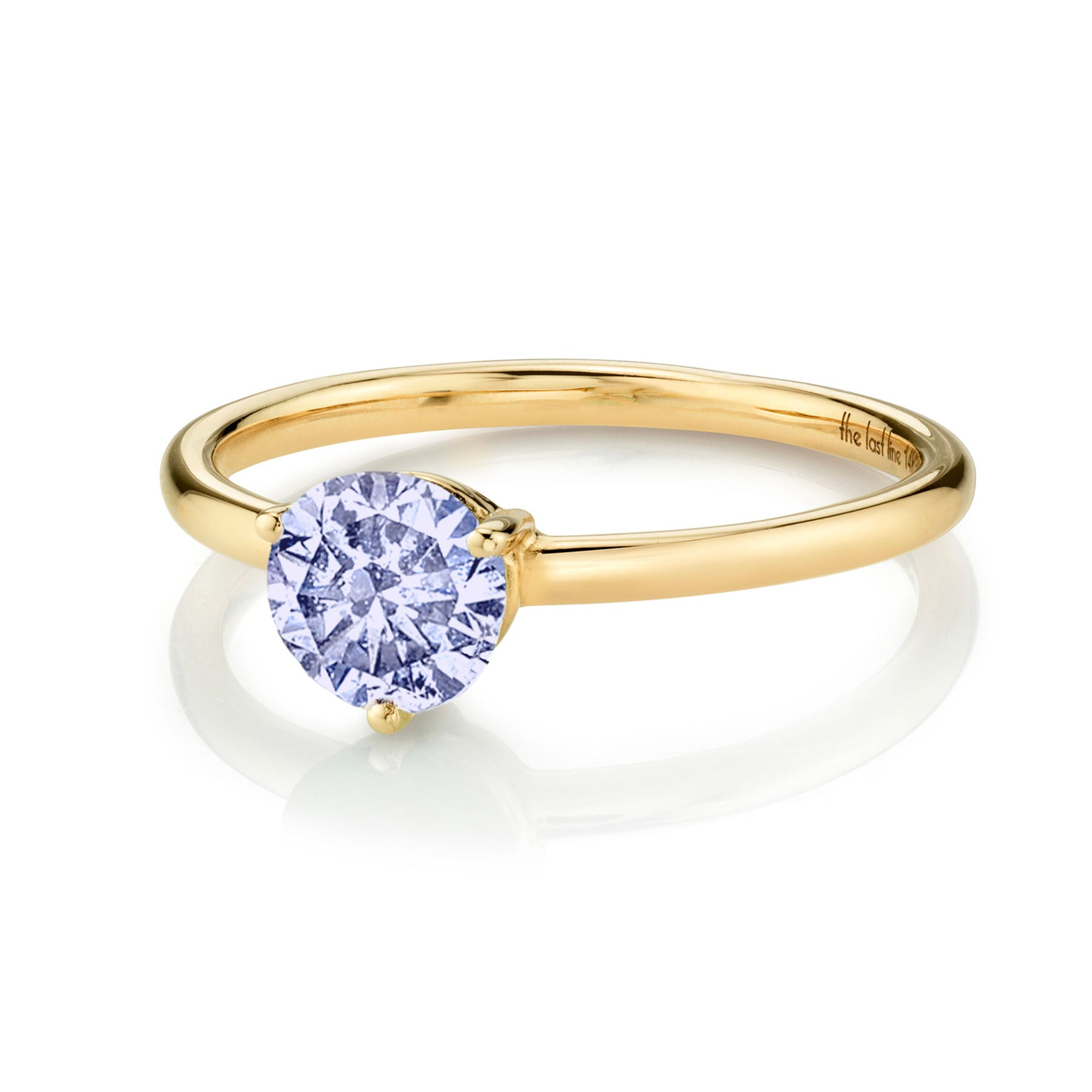 LARGE SOLITAIRE TANZANITE RING