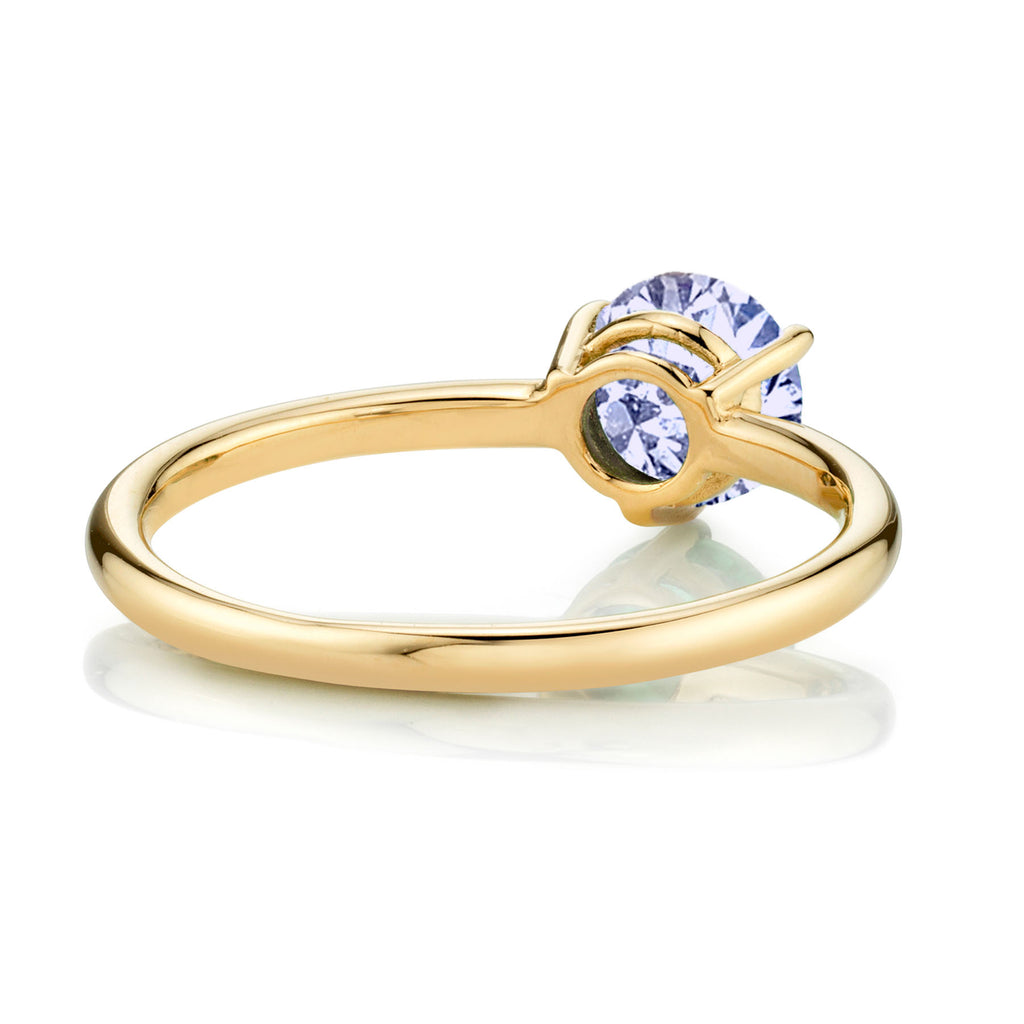 TANZANITE LARGE SOLITAIRE RING