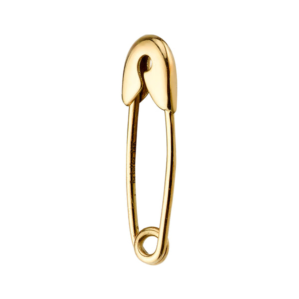 SMALL SAFETY PIN EARRING