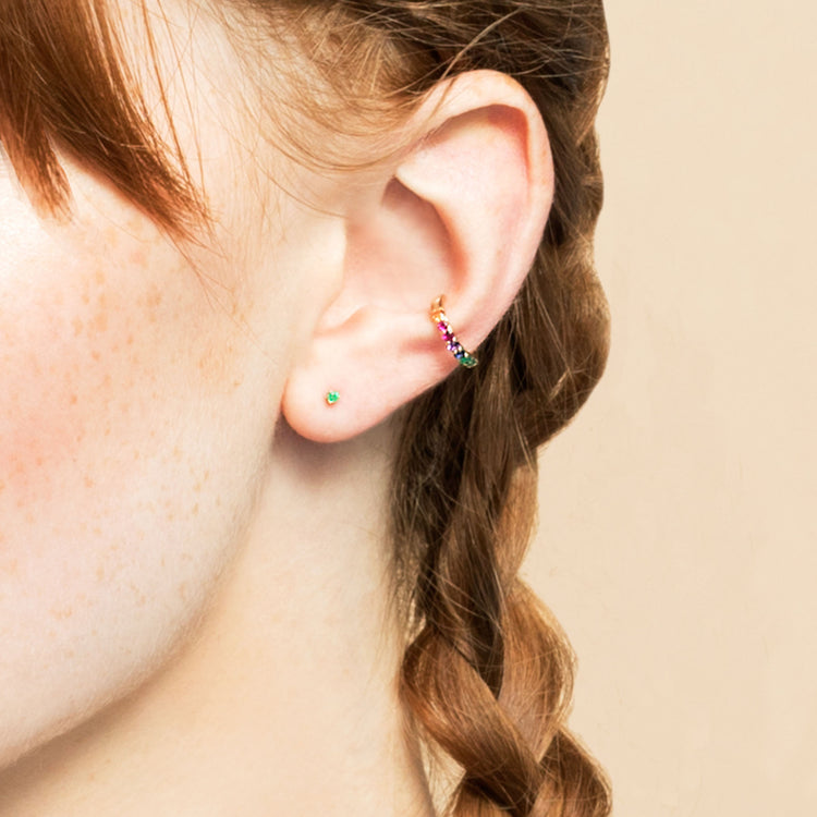 PERFECT RAINBOW EAR CUFF