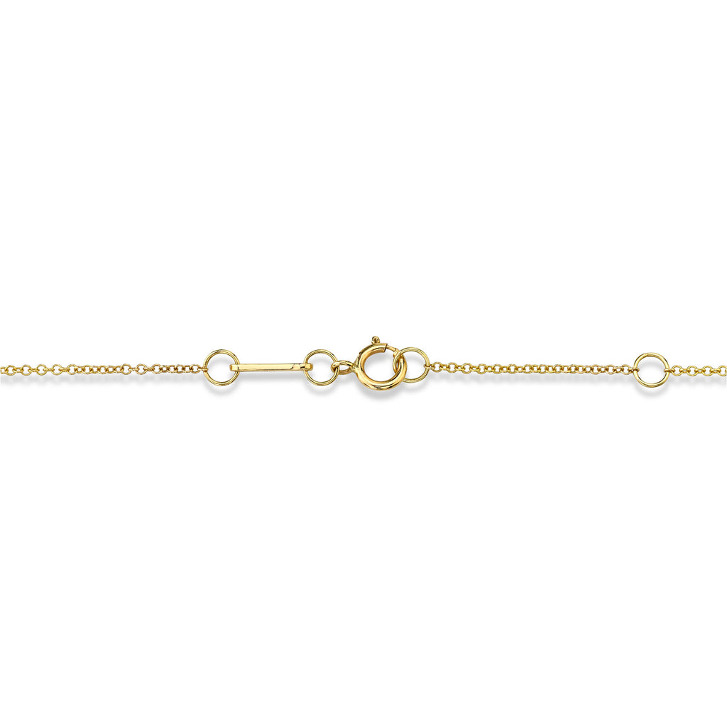 Diamond Mini Anchor Link Necklace