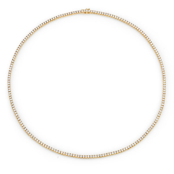 PERFECT DIAMOND 17INCH TENNIS NECKLACE