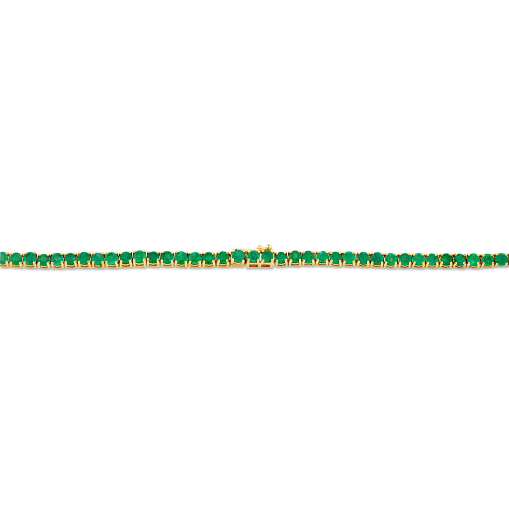 EMERALD ULTIMATE TENNIS NECKLACE