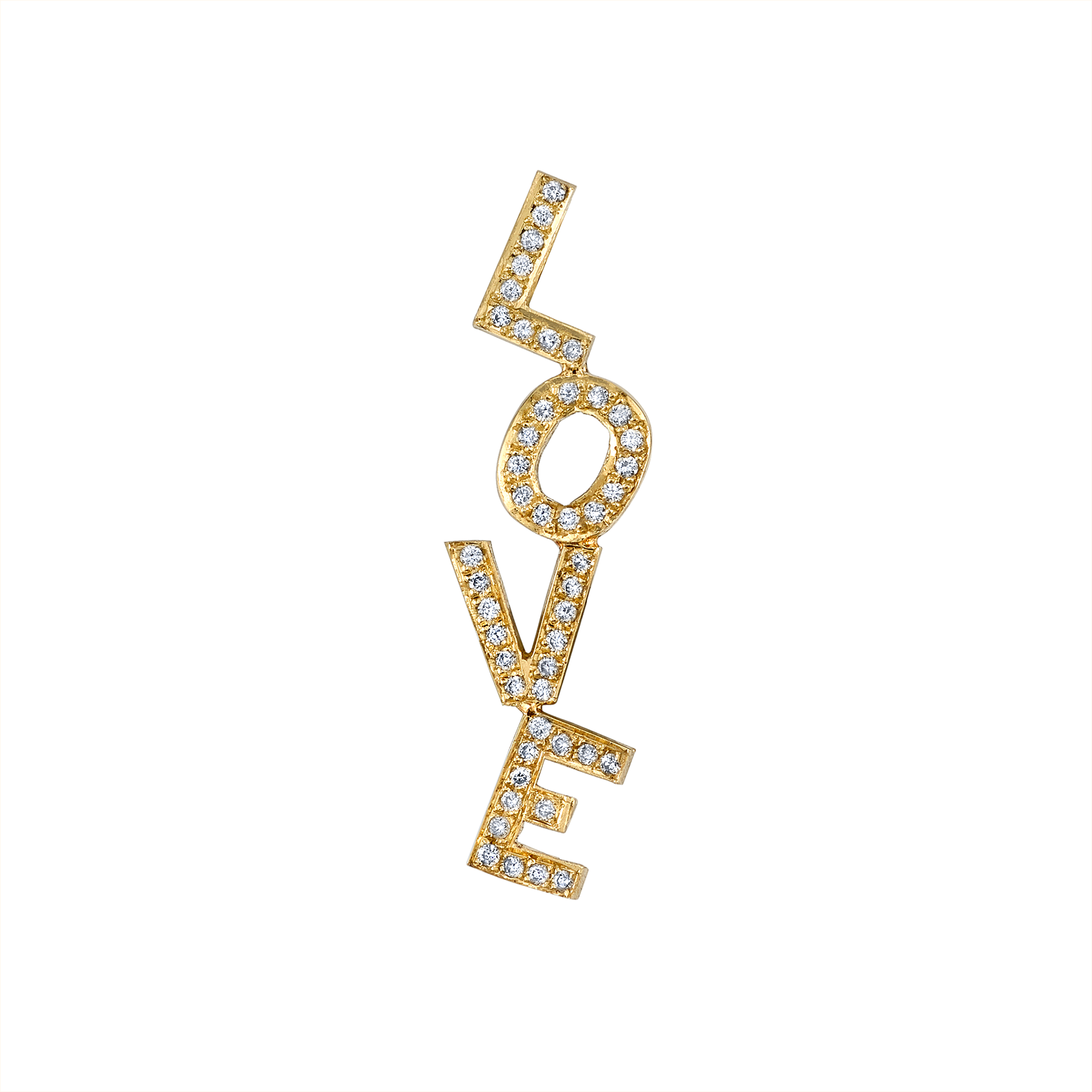 DIAMOND LOVE EARRING
