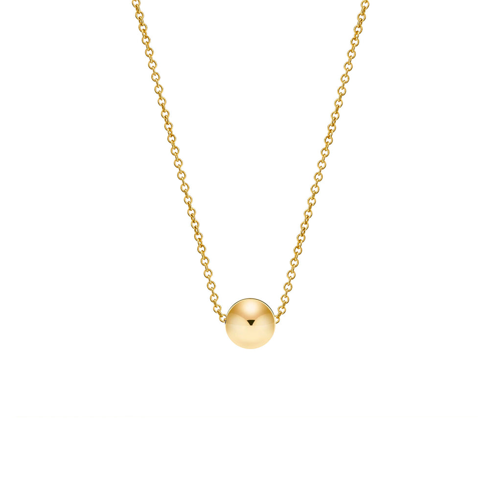 GOLD MINI SPHERE NECKLACE