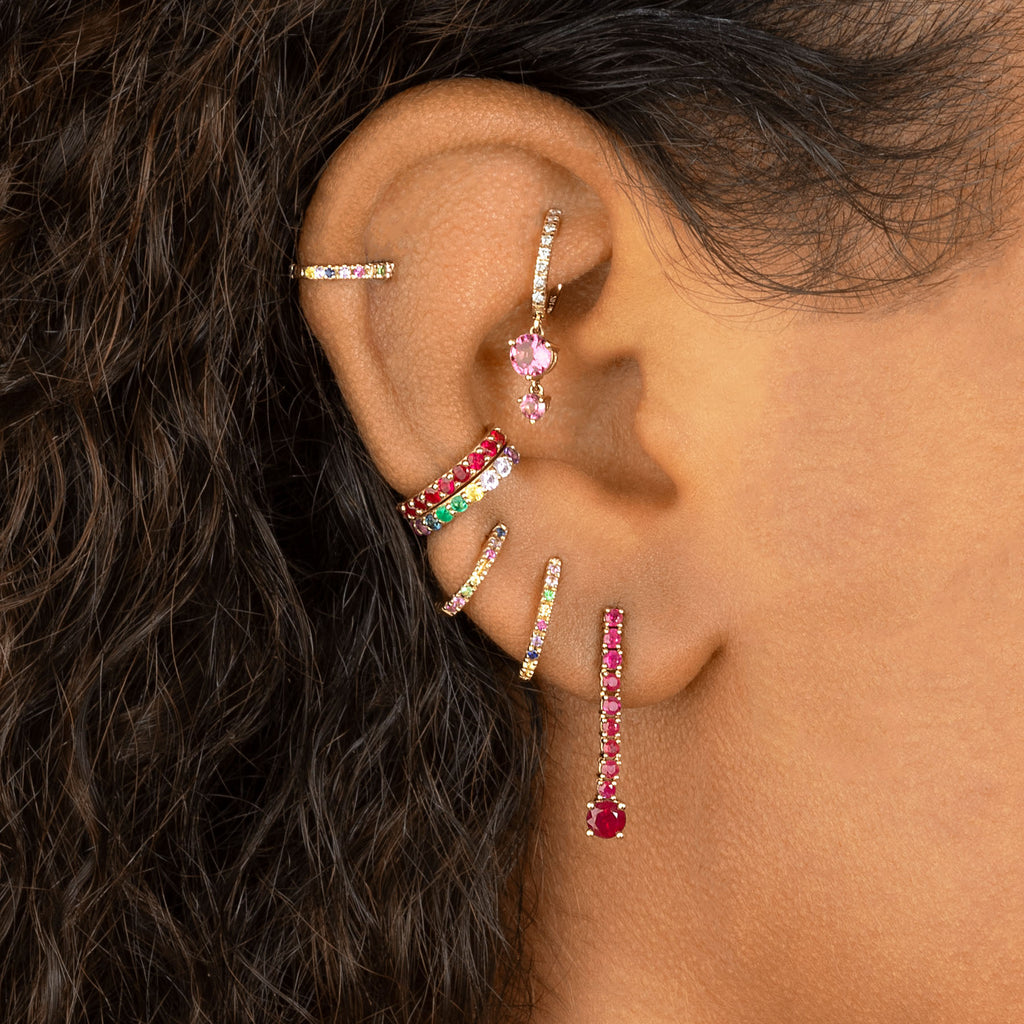 RAINBOW PERFECT EAR CUFF