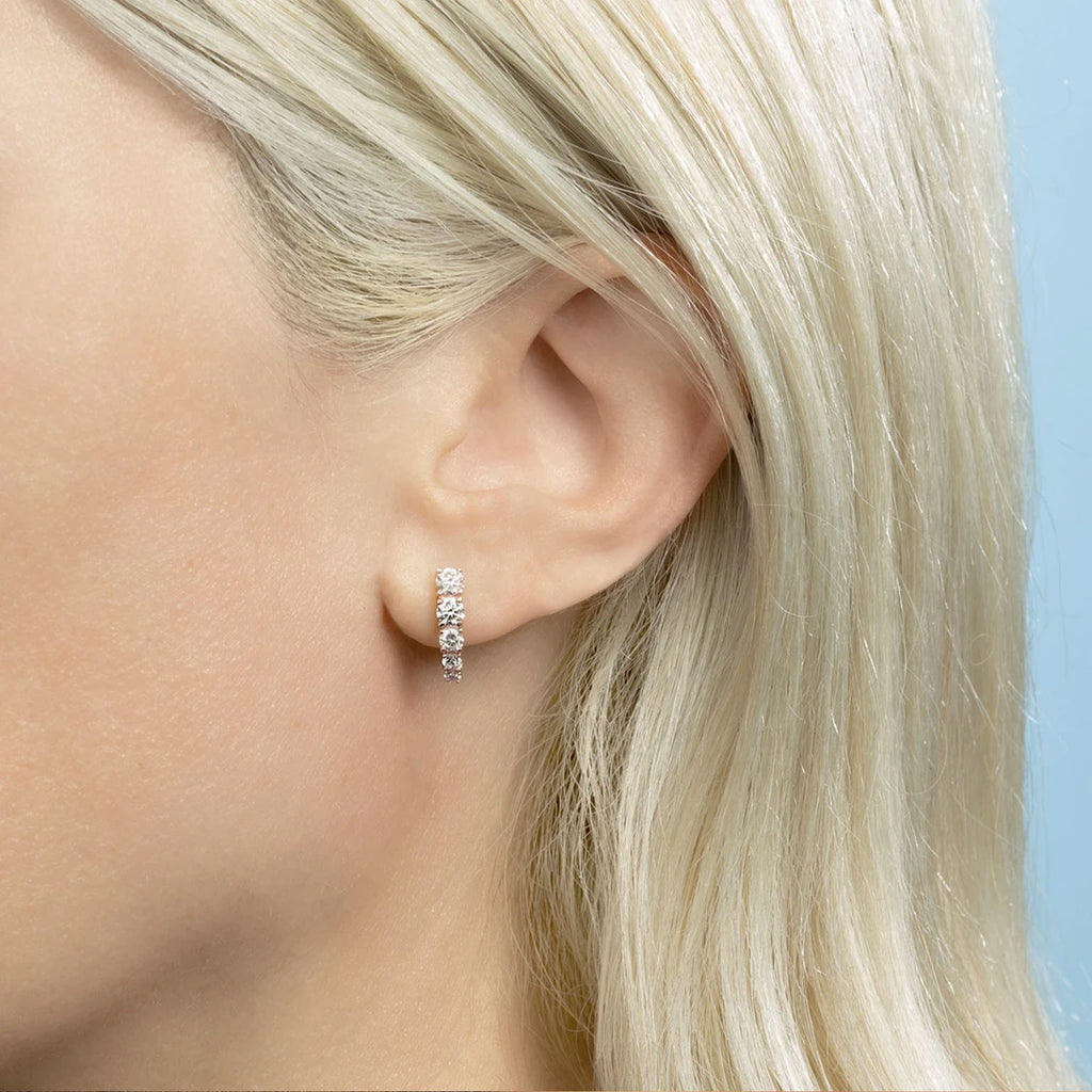 DIAMOND COMET EARRING