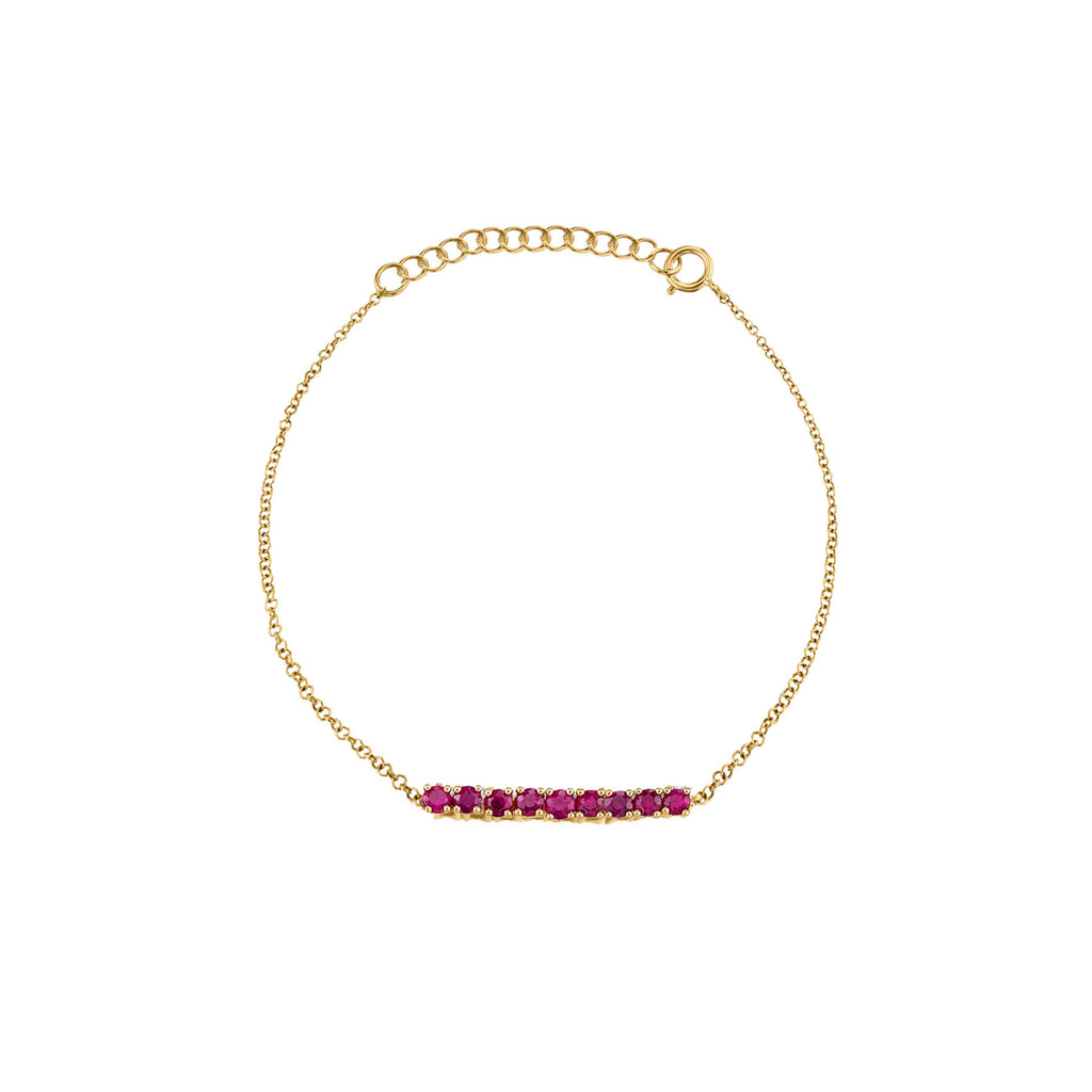 RUBY MINI TENNIS BRACELET