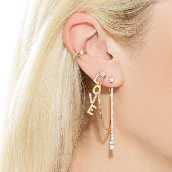 PERFECT GOLD EAR CUFF