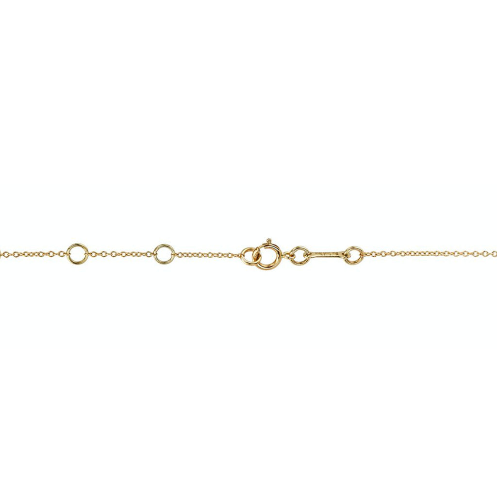 DIAMOND BEZEL LINK NECKLACE
