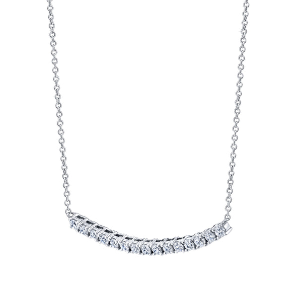 MINI DIAMOND TENNIS NECKLACE