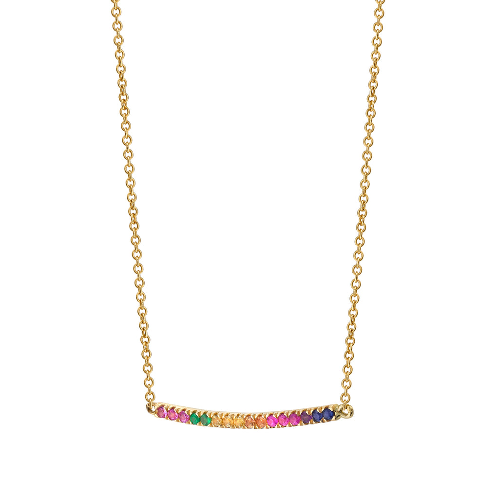 RAINBOW CLIMB NECKLACE