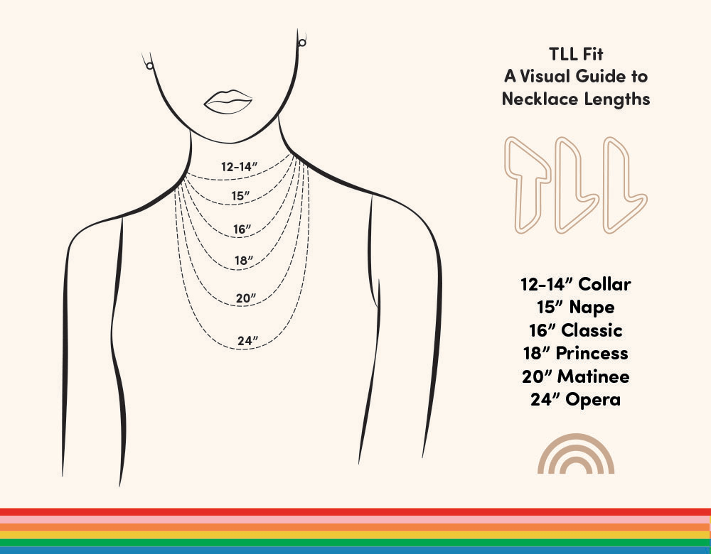 Necklace Size Chart