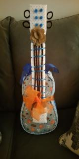 Diaper Cake Theme - Music Guitar