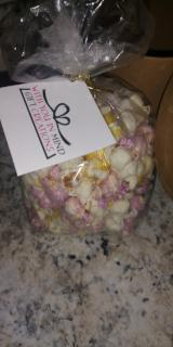 Chocolate Covered Popcorn Bags -Pastel Colors