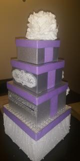 Money Cardbox Centerpiece - Wedding