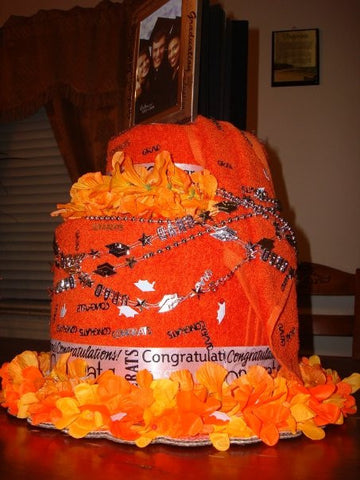 Towel Cake - Graduation