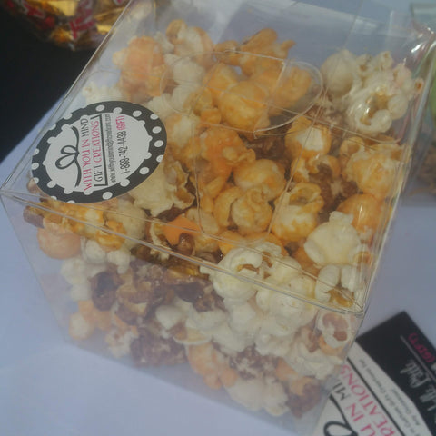 Chocolate Covered Popcorn Boxes