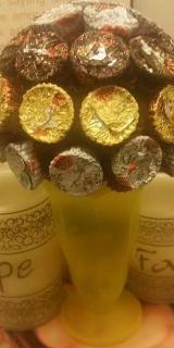 Candy Bouquet - Reeses Peanut Butter Cups