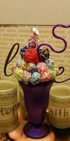 Candy Bouquet - Lollipop Sundae Cup