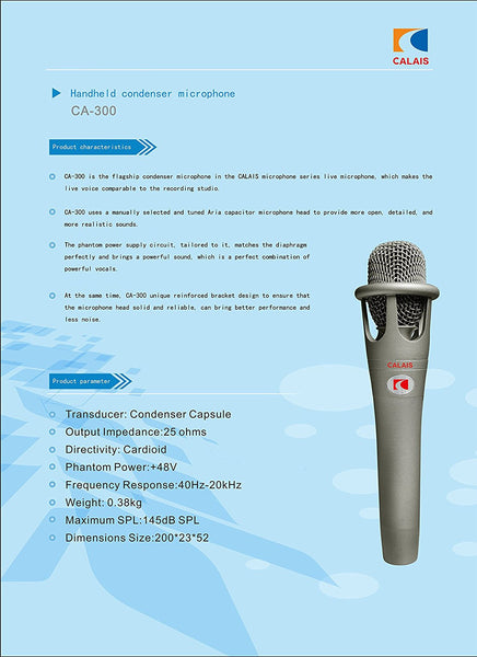 Microphones Encore 100 Studio Grade Dynamic Performance