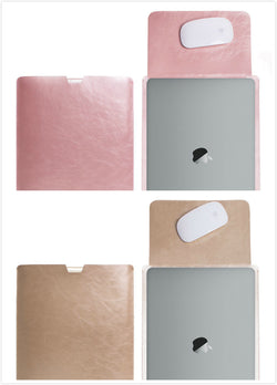 MacBook 12 inch with Retina Display Protective Soft Sleek Sleeve Cover Carrying Bag with Exterior Mouse Pad