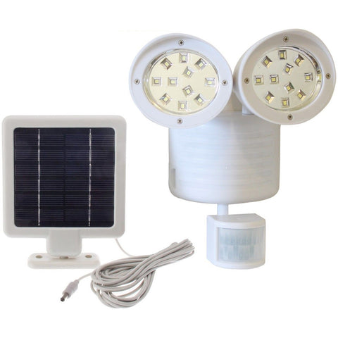 Solar Powered Motion Sensor Light 22 SMD-LEDs 150 Lumens
