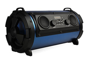 "15"" Portable Car Thunder Sonic Bluetooth bass Cylinder Loud Speaker with Built-In FM Radio"