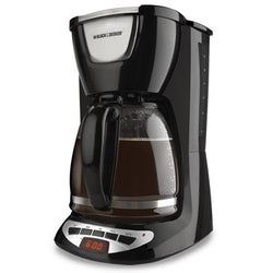 Black & Decker DCM100B 12 Cups Coffee And Espresso Maker - Black