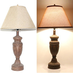 Tone Bronze Traditional Table Lamp A